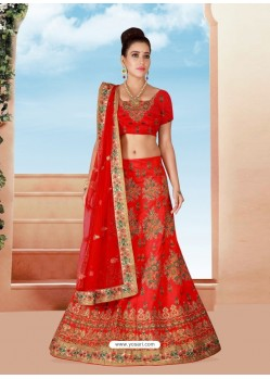 Glorious Embroidered Bridal Lehenga Choli