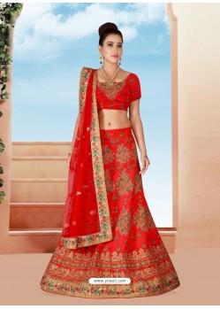 Glorious Embroidered Bridal Lehenga Choli