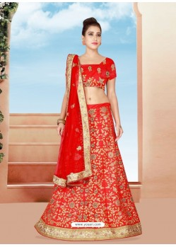 Gorgeous Embroidered Bridal Lehenga Choli