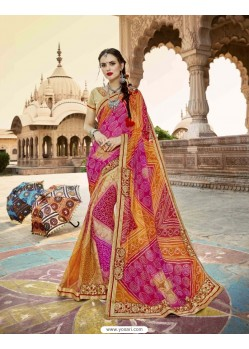 Fashionistic Georgette Party Wear Saree