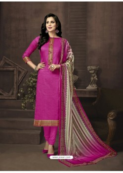 Deserving Pink Cotton Suit