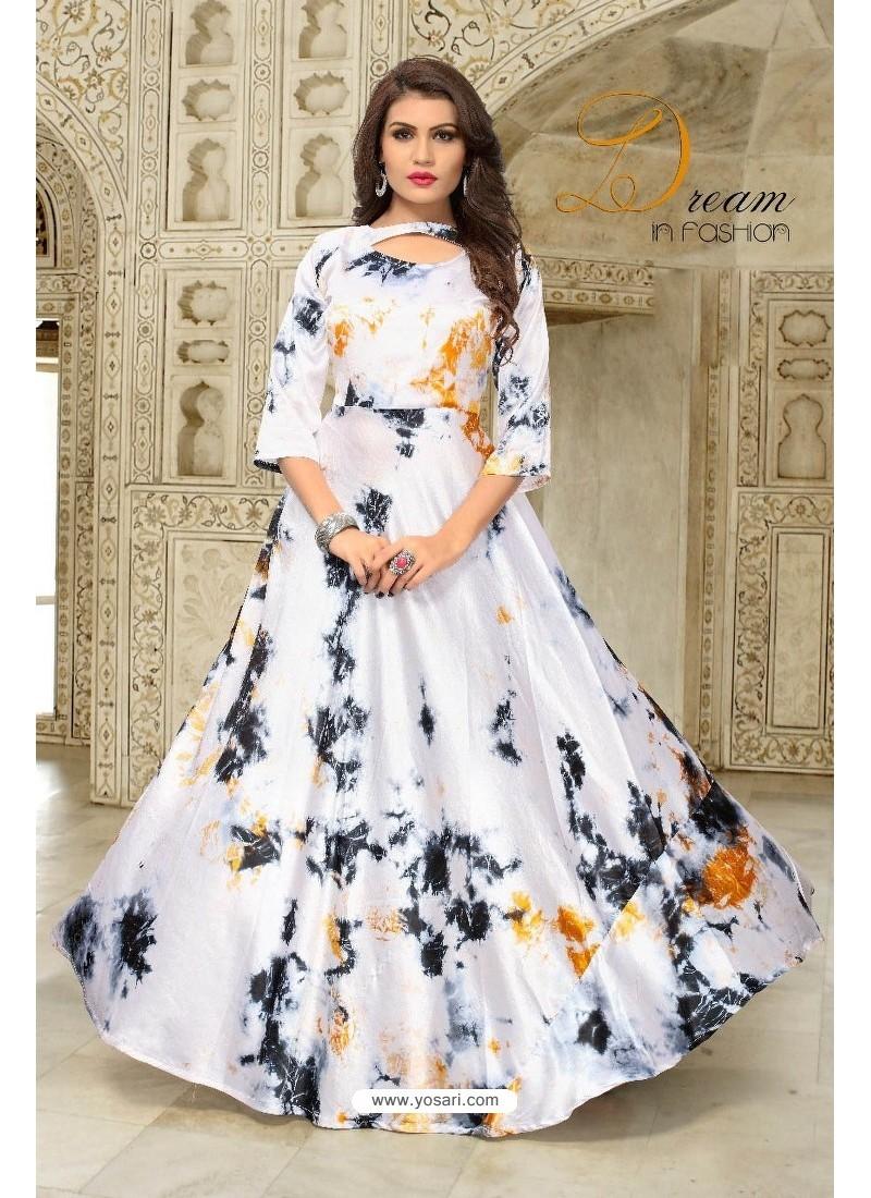 af28ab2e504 Buy White Partywear Designer Readymade Kurti