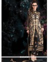 Fabulose Black Zari Work Pant Style Suit