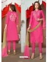 Rani Glaze Cotton Designer Straight Suit