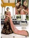 Maroon Silk Heavy Embroidered Designer Wedding Lehenga Choli