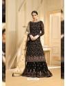 Black Heavy Embroidered Designer Sarara Suit