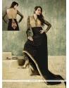 Elegant Black Georgette Pant Style Suit