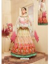 Multi Colour Heavy Georgette Digital Printed Designer Gown