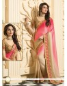 Multicolor Satin Silk Party Wear Saree