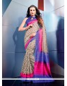 Miraculous Multicolor Art Silk Casual Saree