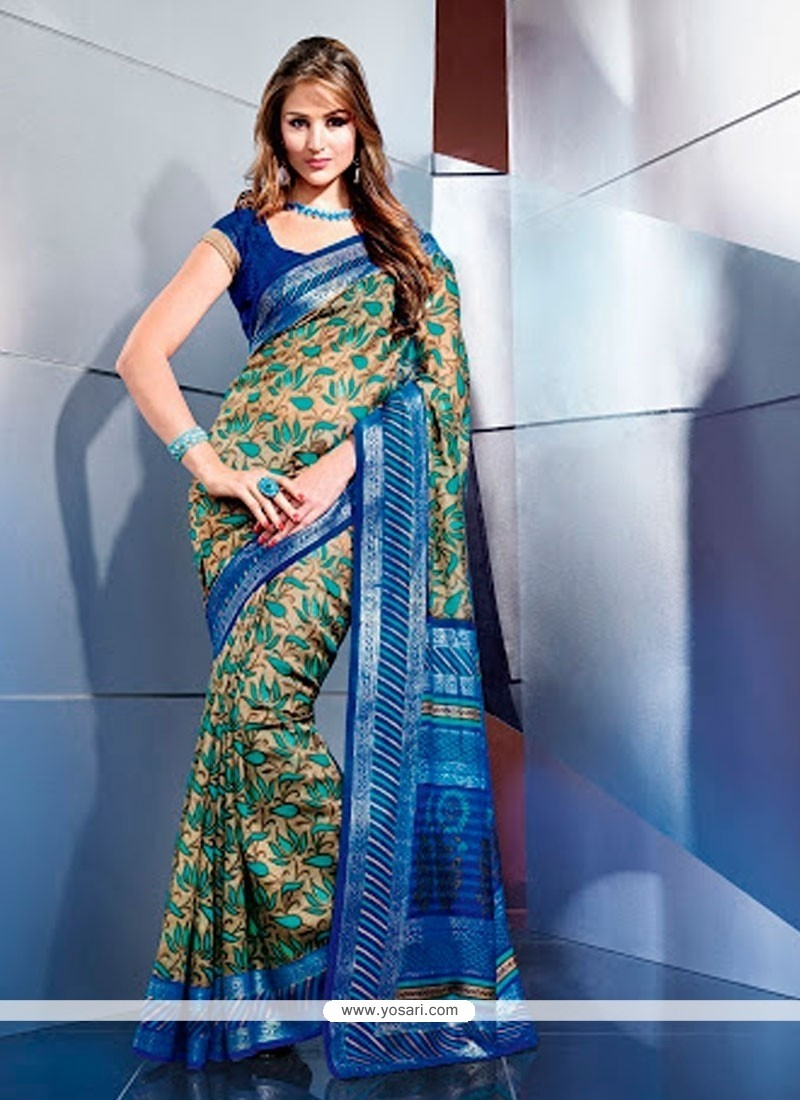 Fabulous Multicolor Art Silk Casual Saree