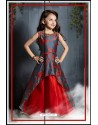 Awesome Red Party Wear Gown for Girls