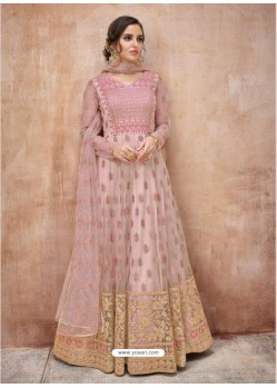 Stylish Pink Designer Anarkali Suit