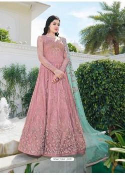 Fabulous Light Pink Designer Anarkali Suit