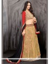 Lovely Cream Net Wedding Lehenga Choli