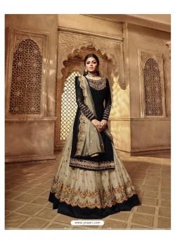 Ravishing Black Designer Palazzo Salwar Suit