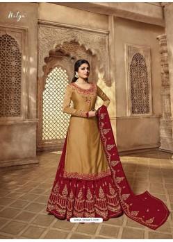 Ravishing Mustard Designer Palazzo Salwar Suit