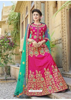 Classy Rani Heavy Embroidered Wedding Lehenga