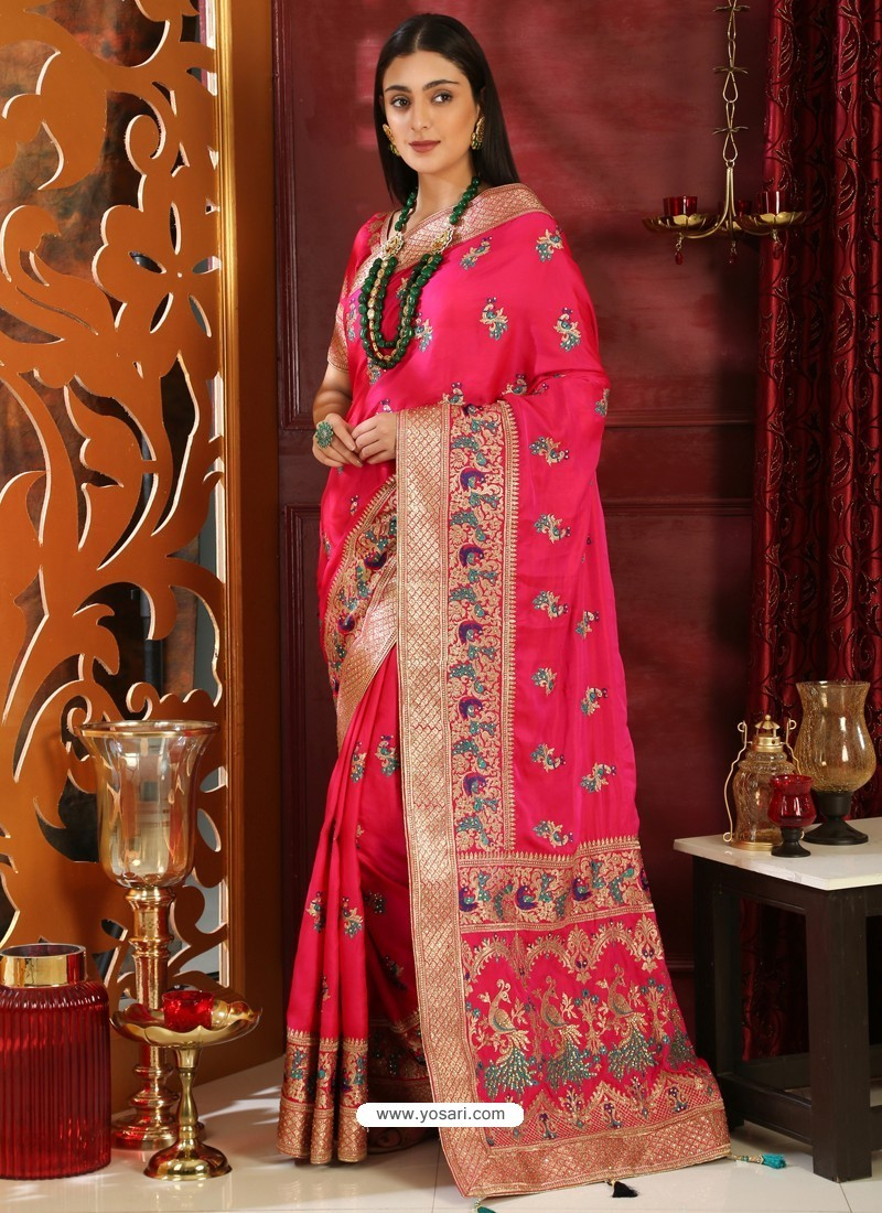 Classy Rani Designer Silk Sari