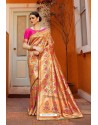 Trendy Multi Colour Designer Party Wear Sari