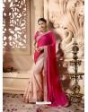 Rose Red Designer Wedding Sari