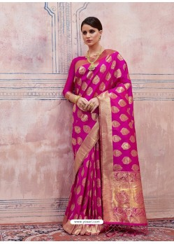 Rani Designer Silk Party Wear Sari