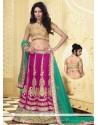 Jaaz Magenta Net Designer Lehenga Choli