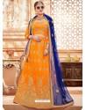 Yellow Heavy Embroidered Wedding Lehenga Choli