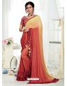 Multi Coloured Party Wear Designer Saree