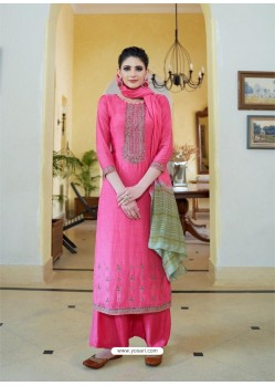 Rani Cotton Silk Latest Palazzo Suit