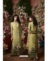 Mehendi Designer Crepe Digital Printed Palazzo Salwar Suit