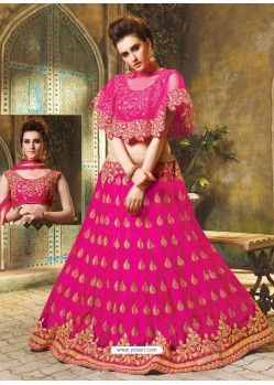 Rani Cape Patterned Heavy Designer Lehenga Choli