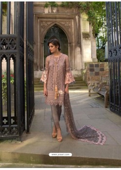 Dusty Pink Heavy Embroidered Designer Palazzo Suit