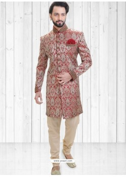 Multi Colour Readymade Indowestern Sherwani For Men