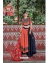 Red And Black Designer Ethnic Wear Navratri Ras Special Lehenga Choli