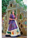 Off White Designer Ethnic Wear Navratri Ras Special Lehenga Choli