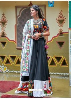 Carbon Designer Ethnic Wear Rajasthani Style Lehenga Choli
