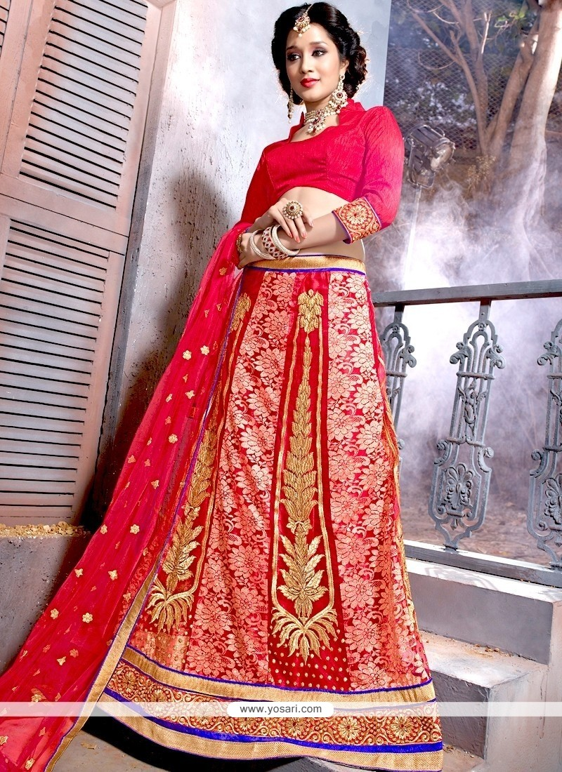 Aristocratic Designer Lehenga Choli For Reception