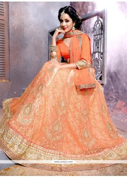 Attractive Patch Border Work Designer Lehenga Choli