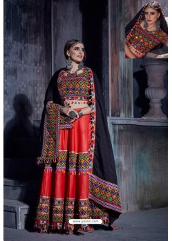 Red Designer Ethnic Wear Rajwadi Style Lehenga Choli