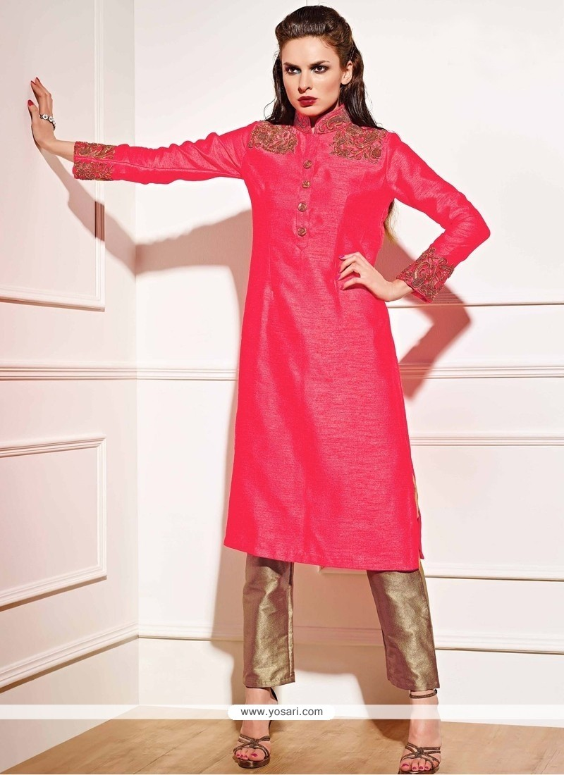 Adorable Georgette Embroidered Work Designer Salwar Suit