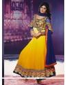 Miraculous Georgette Anarkali Salwar Kameez