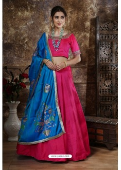Rani Heavy Embroidered Mastani Silk Party Wear Lehenga Choli