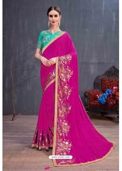 Rani Designer Printed Classic Wear Sari