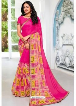 Rani Designer Printed Georgette Sari