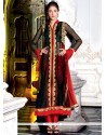 Dignified Embroidered Work Net Designer Salwar Kameez