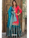 Rani Designer Party Wear Palazzo Salwar Suit