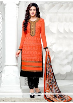 Graceful Embroidered Work Salwar Suit