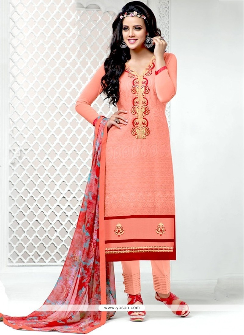 Fascinating Cotton Designer Salwar Suit