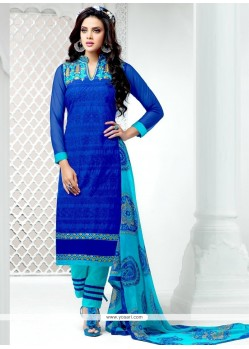 Astounding Cotton Designer Salwar Kameez